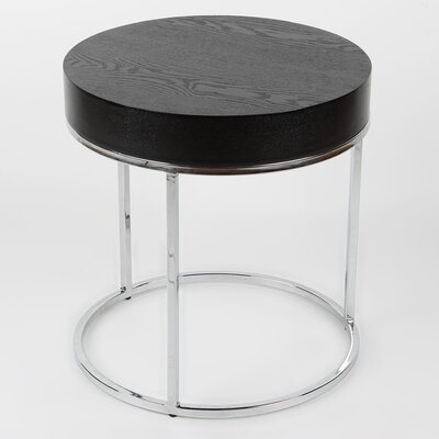 Mog Side Table Finish: Black Veneer