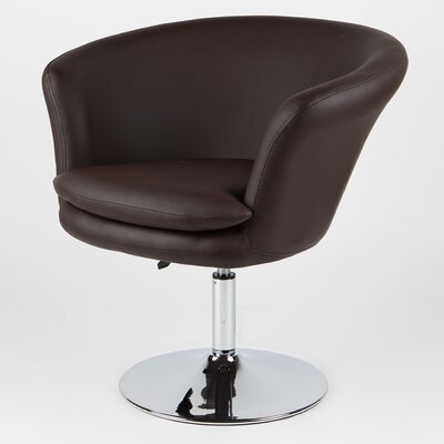 Kristina Arm Chair Upholstery: Chocolate
