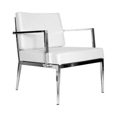 Nancy Armchair Upholstery: White