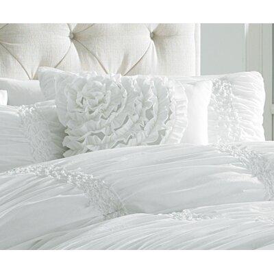 Cotton Clouds Accent Pillow Color: White