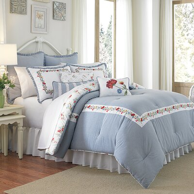 Summer Dream 3 Piece Comforter Set Size: King