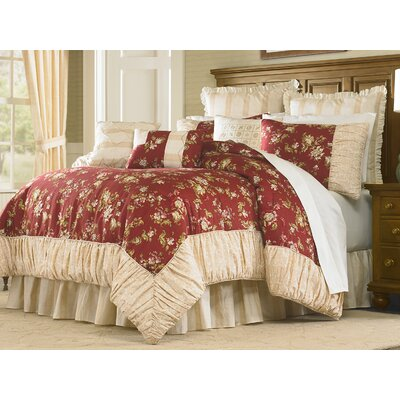 4 Piece Comforter Set Size: King