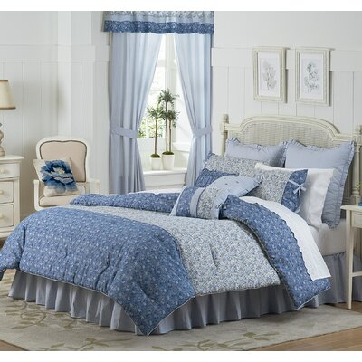 Dora 4 Piece Comforter Set Size: Queen
