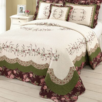 Mary Jane's Home Brooke Bedding Collection (5 Pieces) - Size: Queen at Sears.com