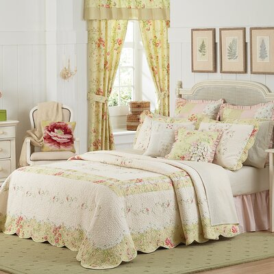 Mary Jane's Home Prairie Bloom Bedspread - Size: Full