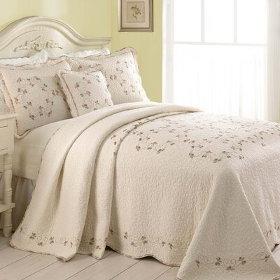 Mary Jane's Home Felisa Bedspread - Size: Queen at Sears.com