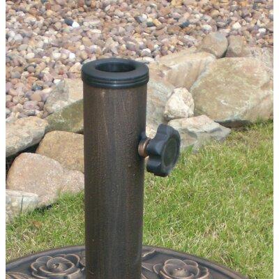 Freistehender Schirmständer aus Beton | Garten > Sonnenschirme und Markisen > Sonnenschirmständer | Kingfisher