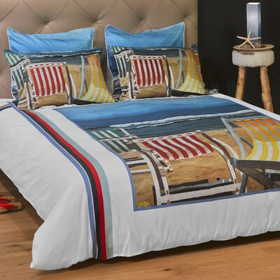 Beautiful Day Duvet Cover Size: Full/Queen