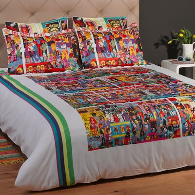 Hindley Street Duvet Cover Size: Full/Queen