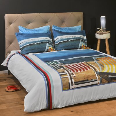 Beautiful Day 3 Piece Reversible Duvet Cover Set Size: Full/Queen