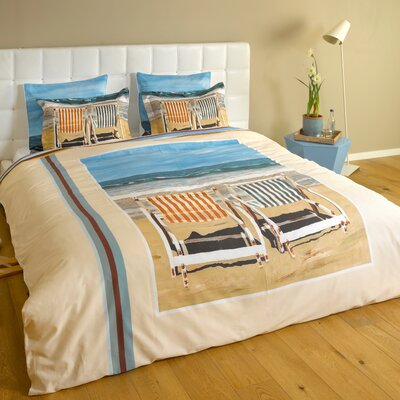 Chairs on the Beach Duvet Cover Collection
