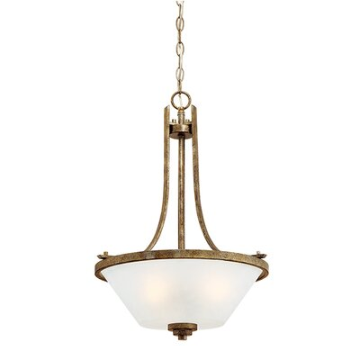Benton 3 Light Bowl Pendant