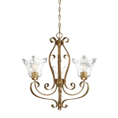Chatsworth 3-Light Shaded Chandelier