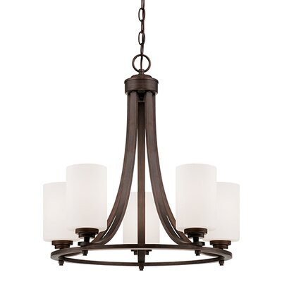 Castano 5-Light Shaded Chandelier