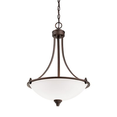 Bristo 3-Light Bowl Pendant
