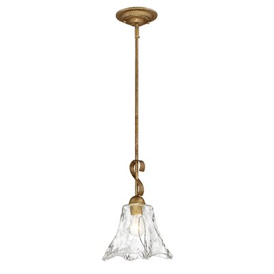 Whaley 1-Light Mini Pendant Size: 53 H x 8 W x 8 D