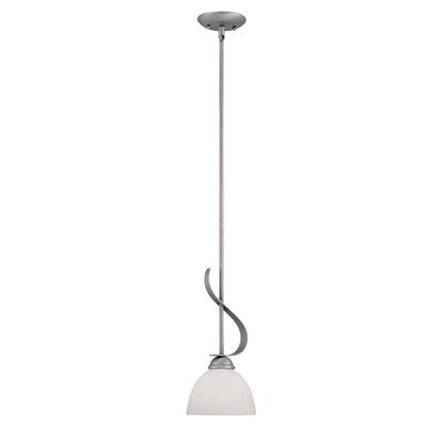 1-Light Mini Pendant Finish: Brushed Pewter