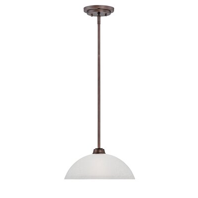 Franklin 1-Light Mini Pendant Finish: Rubbed Bronze