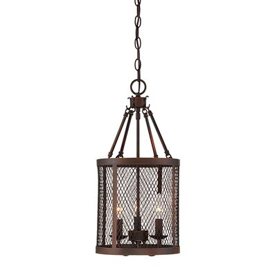Akron 3-Light Foyer Pendant Finish: Rubbed Bronze