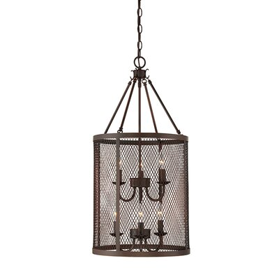 Akron 6-Light Foyer Pendant Finish: Rubbed Bronze