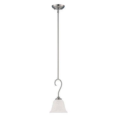 Cleveland 1-Light Mini Pendant Finish: Satin Nickel