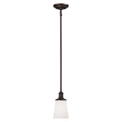 Cimmaron 1-Light Mini Pendant Finish: Rubbed Bronze