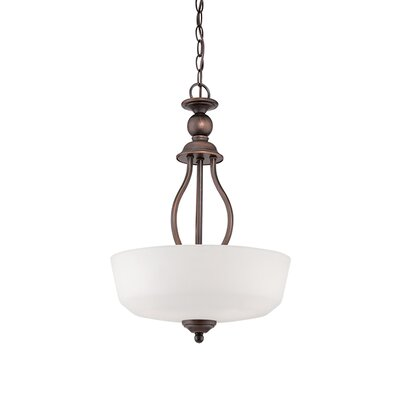 Lansing 3-Light Pendant Finish: Rubbed Bronze