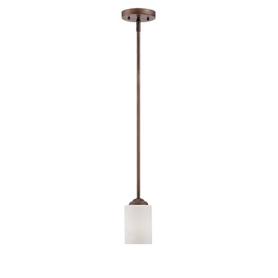 Lansing 1-Light Mini Pendant Finish: Rubbed Bronze