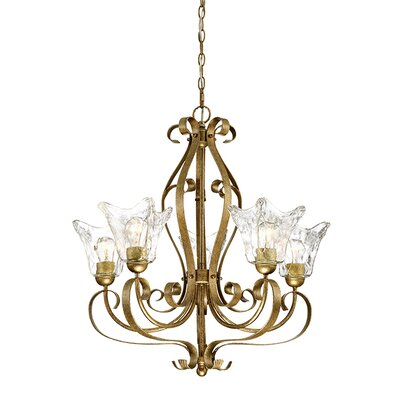 Whaley 5-Light Shaded Chandelier