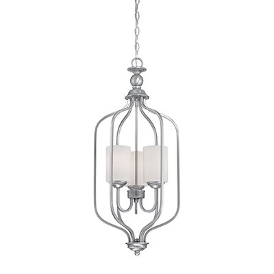 Lansing 3-Light Foyer Pendant Finish: Brushed Pewter