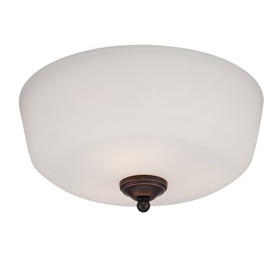 Lansing 3-Light Semi-Flush Mount Finish: Rubbed Bronze