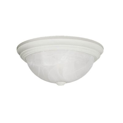 Bridwell 3-Light Flush Mount Finish: White
