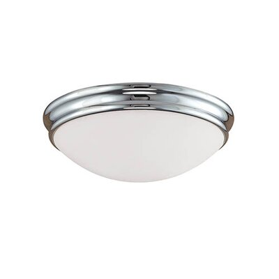 Judith 2-Light Flush Mount Finish: Chrome