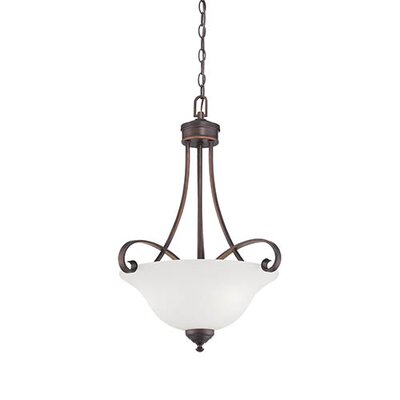 Kingsport 3-Light Bowl Pendant