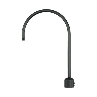 R Series Single Post Adapter Finish: Satin Black