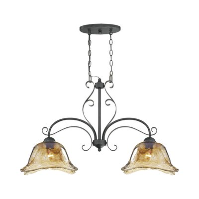 Whaley 2-Light Kitchen Pendant