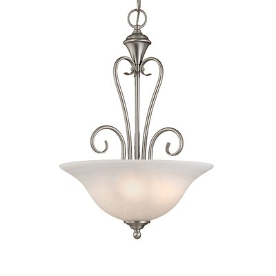 Devonshire 3-Light Pendant Finish: Satin Nickel