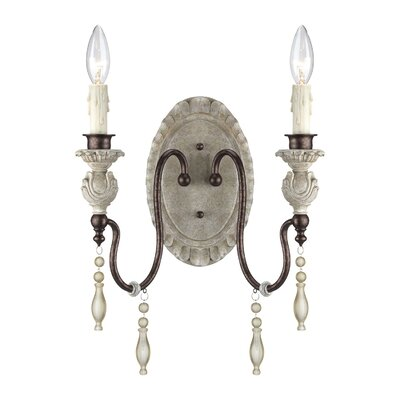 Grateron 2-Light Wall Sconce