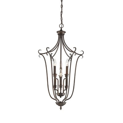 Fulton 6-Light Foyer Pendant Finish: Rubbed Bronze