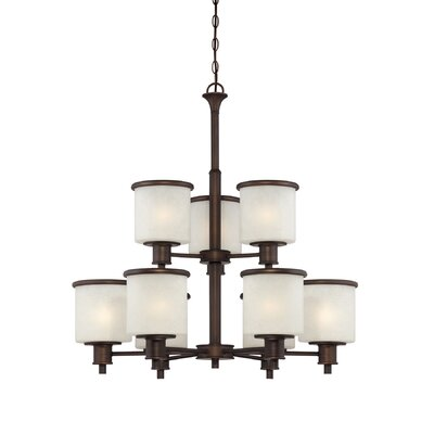Dalton 9-Light Shaded Chandelier