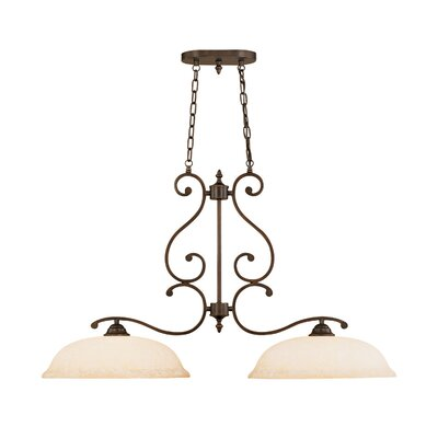 Courtney Lakes 2-Light Kitchen Pendant Lighting