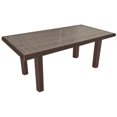 Hampton Dining Table Finish: Chocolate