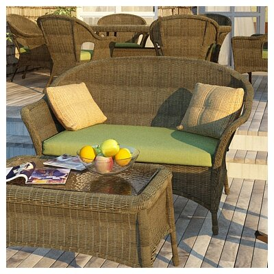Rockport Loveseat with Cushions