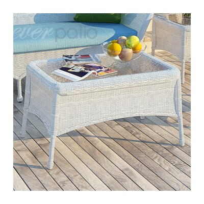 Rockport Coffee Table Finish: White