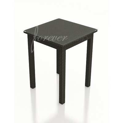 Barbados Bar Table Table Size: 30 W x 30 L