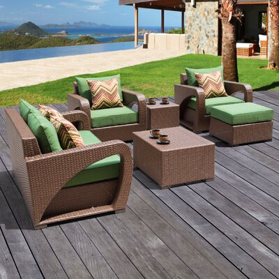 Talton 6 Piece Deep Seating Group with Cushions