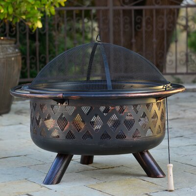 Borealis Firenza Steel Wood Burning Fire Pit