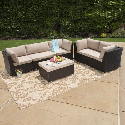 Sauteen 6 Piece Deep Seating Group with Cushions