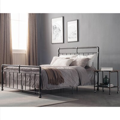 Carmelia Panel Bed Size: King