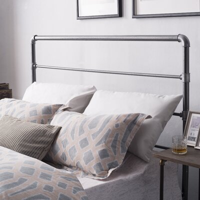 Delinda Metal Queen Panel Bed